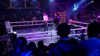 Andrés Cepeda Vs. Amaury  -  Lo mejor que hay en mi vida - La Voz Colombia - Batallas - Temporada 1