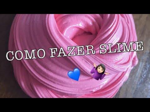 COMO FAZER SLIME ( Sem Bórax E Espuma De Barbear ) Ft.Nikki Meneghel