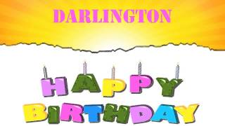 Darlington   Wishes & Mensajes - Happy Birthday