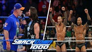 WWE Smackdown 1000 Episode Highlights - WWE Smackdown October 16 ,2018 Highlights