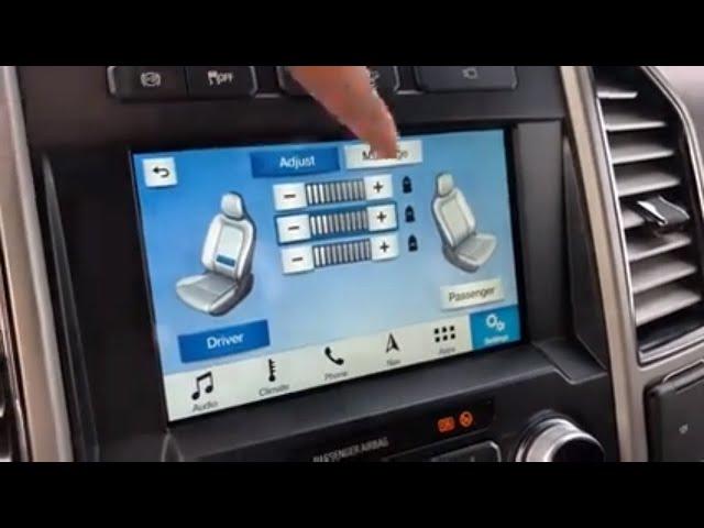 Ford Multicontour Massage Seats Video Trusted Auto