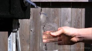 Amazing Water & Sound Illusion