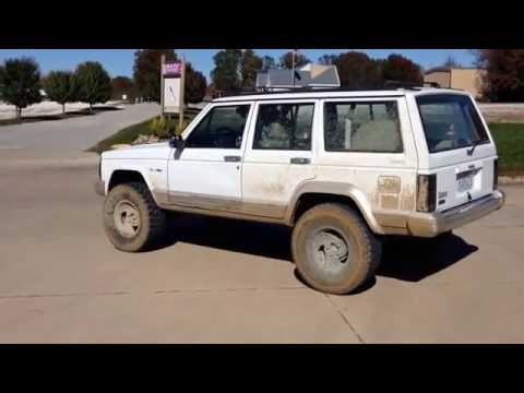 Jeep Cherokee XJ 4.0L Inline 6 Straight Piped - No Muffler