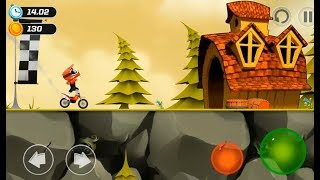 "Bike Up! ""Motor Racing Games"" Android Gameplay Video - Kids Bike Stunts Game (Free Mobile Games)"