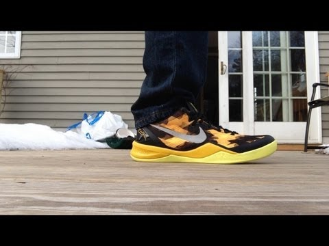 b56278f0900b Kobe 8 System Sulfur Review + On Feet HD - YouTube