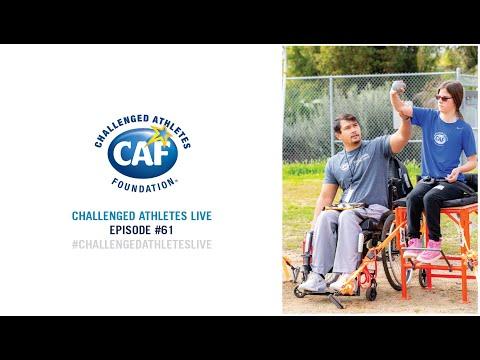 Challenged Athletes Live: Episode 61 | Justin Phongsavanh