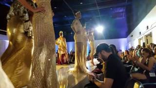 Gold dresses at Brave Wings