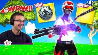 Nick Eh 30 reacts to Black Panther MYTHIC and Combat Shotgun BUFF!