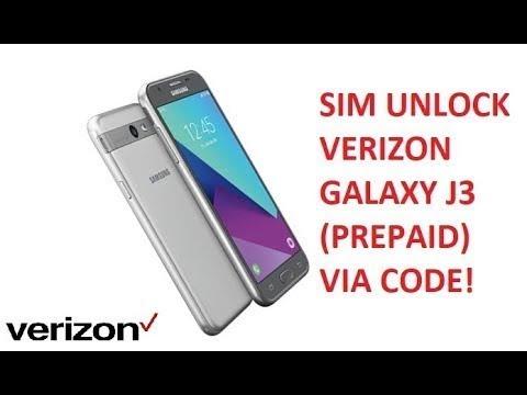 Unlock SM-J327VPP (J3 Mission) - Read Codes Sm-J327vpp verizon 100% work
