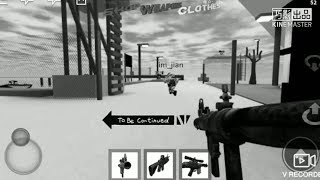 【Roblox】To be continue~Swat and Criminal