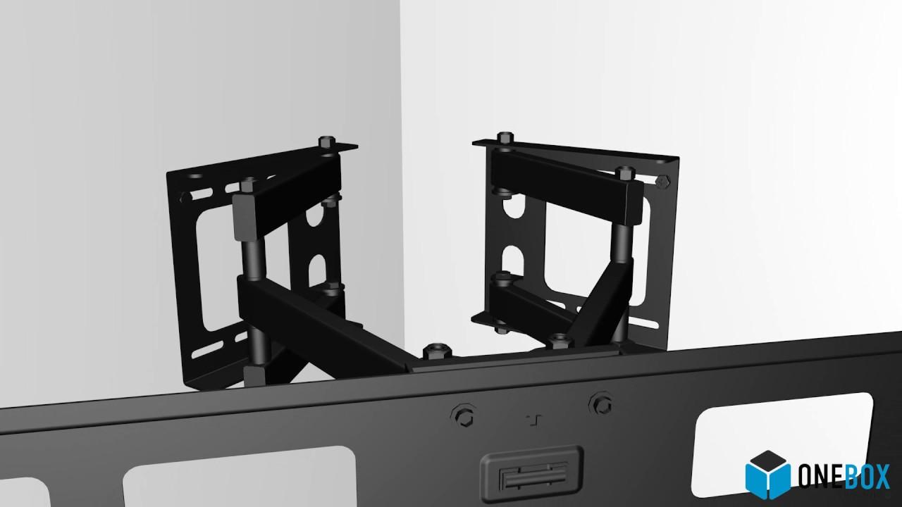 onebox solutions obme soporte esquinero para ledlcd tv