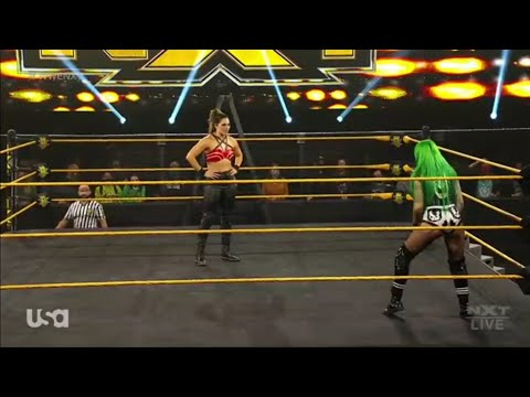 Shotzi Blackheart Vs Raquel González - WarGames Advantage Ladder Match - WWE NXT 02/12/2020