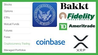 Institutional Money & SEC Working Together on Crypto HODL! - Coinbase Issues - XRP Exchange Listings