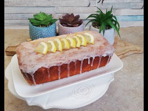 كيك-الليمون-كيكة-الليمون-واللوز-مذاق-رائع-recette-de-cake-au-citron-poudre-d'amande
