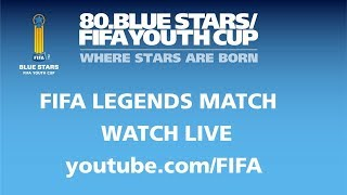 FIFA Blue Stars Youth Cup 2018 - FIFA Legends Match