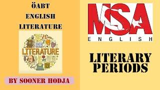 ÖABT - İNGİLİZ DİLİ VE EDEBİYATI - LITERARY PERIODS I - OLD ENGLISH PERIOD