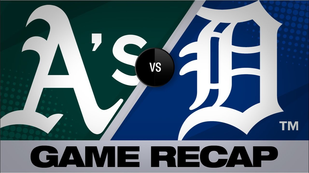 Pinder homers as A's win suspended game | Athletics-Tigers Game Highlights 9/6/19