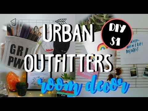 DIY Room Decor URBAN OUTFITTERS INSPIRED