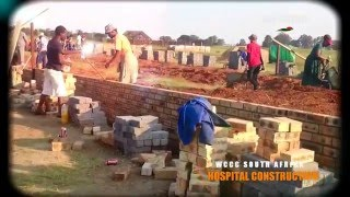 WCCC SOUTH AFRICA-HOSPITAL CONSTRUCTION=ALL THE GLORY BELONGS TO YOU GOD