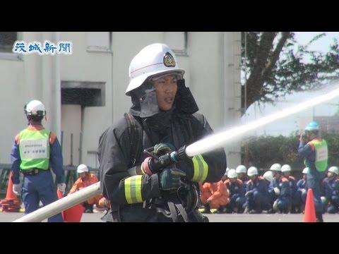123人の〝消防士の卵〟訓練成果を披露     県消防学校