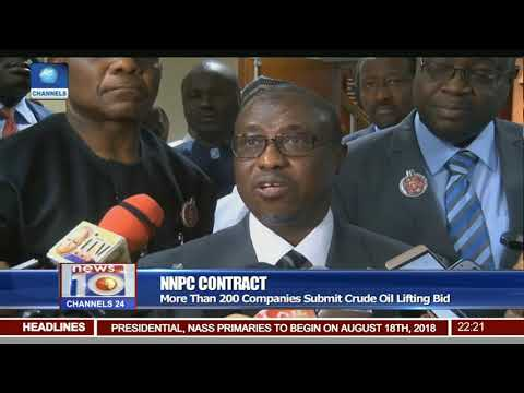 NNPC Contract: More Than 200 Companies Submit Crude Oil Lifting Bid