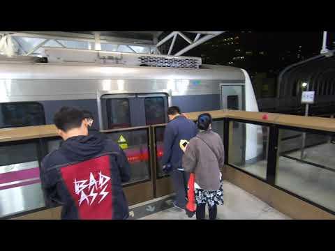 Beijing Subway  Line#10-5  to Datunlu, Subway Video #2