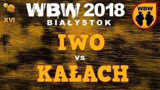 bitwa KAŁACH vs IWO # WBW 2018 Białystok (1/8) # freestyle battle