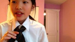 How to make tie how to tie a tie hindi audio clip how to tie a tieeasy ccuart Images