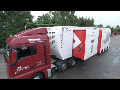 Toshiba Medical Systems UK Mobile CT Scanner