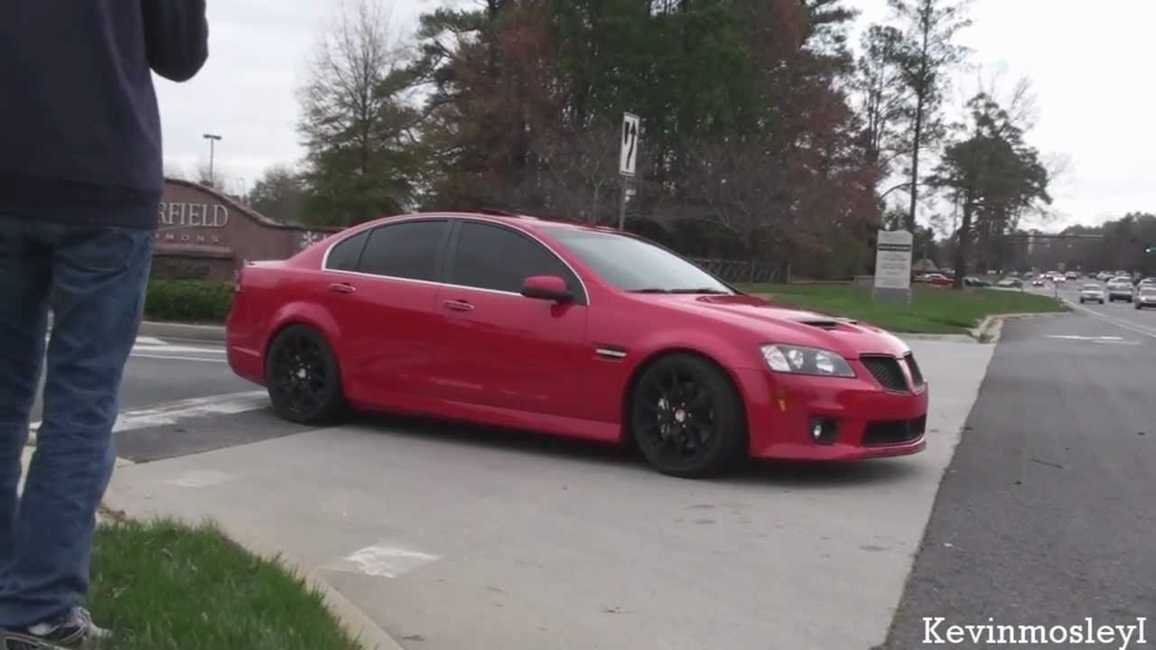 Pontiac G8 GXP sound - YouTube
