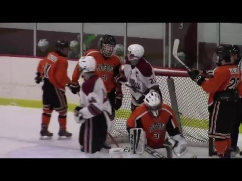 NCCS - Plattsburgh Hockey  1-23-16