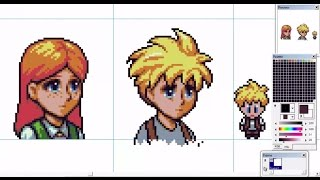[OC] [Pixel Art] Towards the Pantheon - Forest NPC Portraits