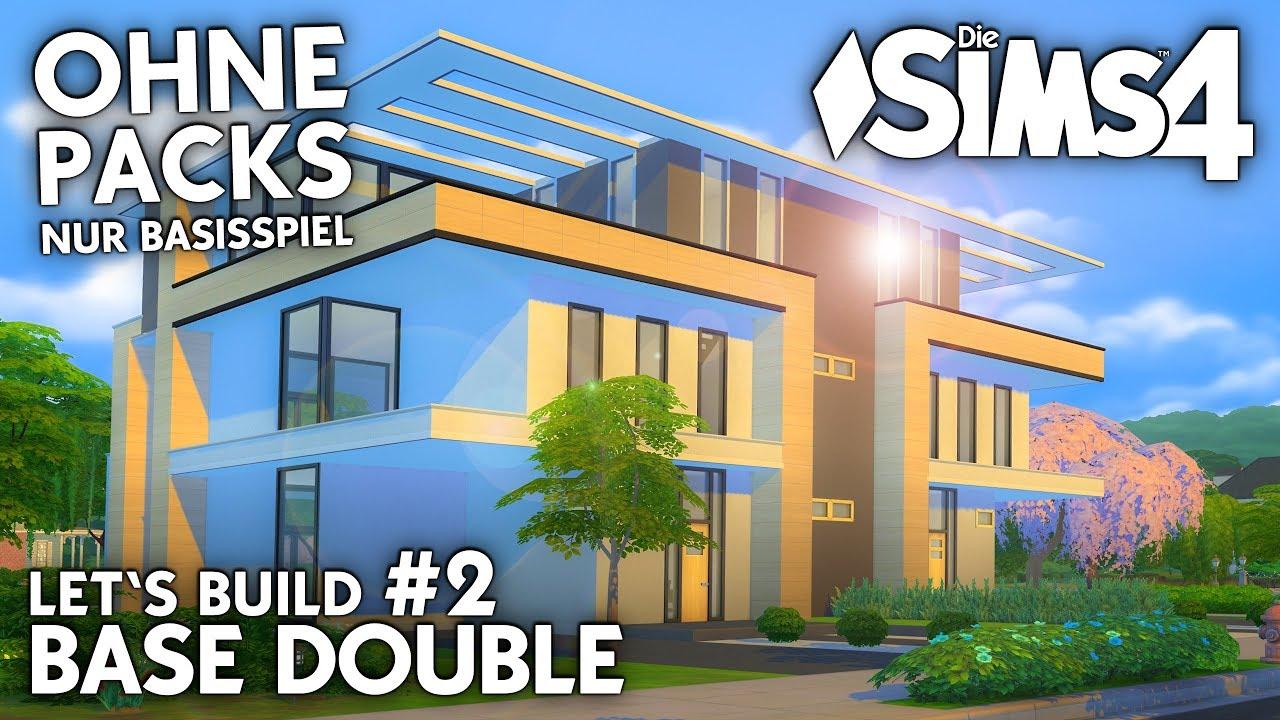 Die Sims 4 Haus Bauen Ohne Packs Base Double 2 Grundriss