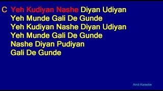 Gambar cover Mehndi Laga Ke Rakhna - Udit Narayan Lata Mangeshkar Duet Hindi Full Karaoke with Lyrics