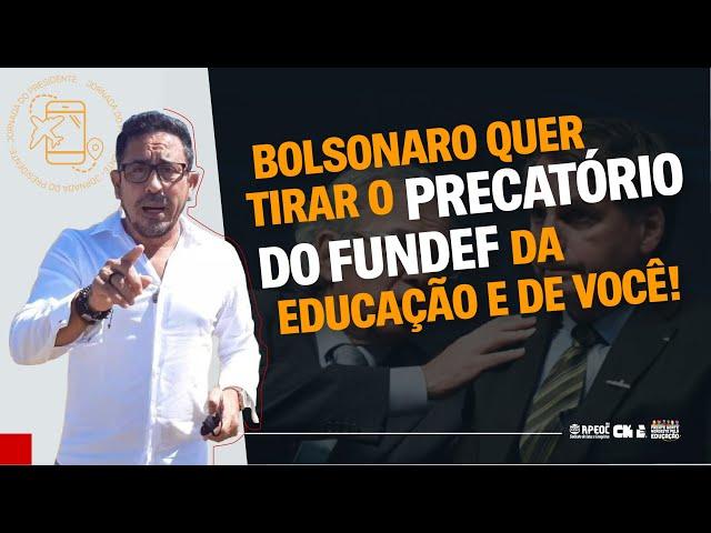 PRECATÓRIOS DO FUNDEF: LIVE DE MOBILIZAÇÃO NACIONAL CONTRA A PEC DO CALOTE
