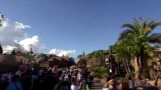 Seven Dwarfs Mine Train Roller Coaster Construction Update Magic Kingdom 2014 February 2nd