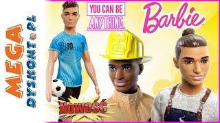 Barbie i KEN  Kariera  kolekcja nowych lalek 2019