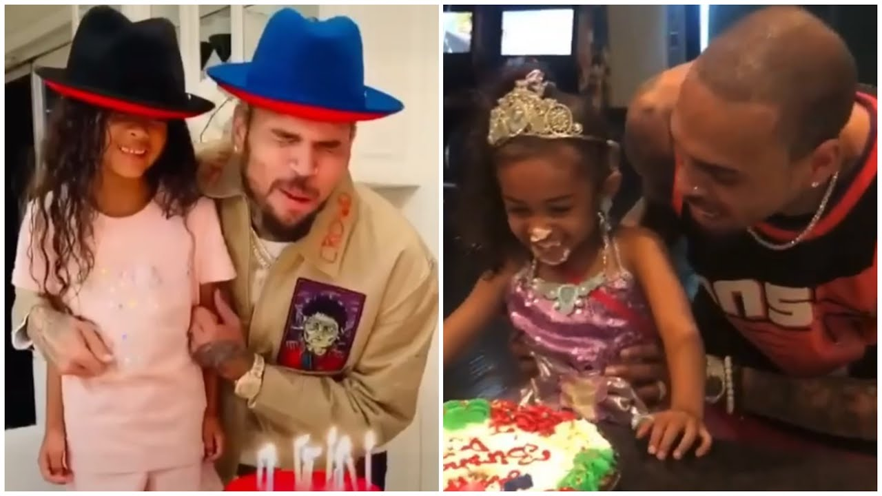 Chris Brown's Birthday (Cuteness)