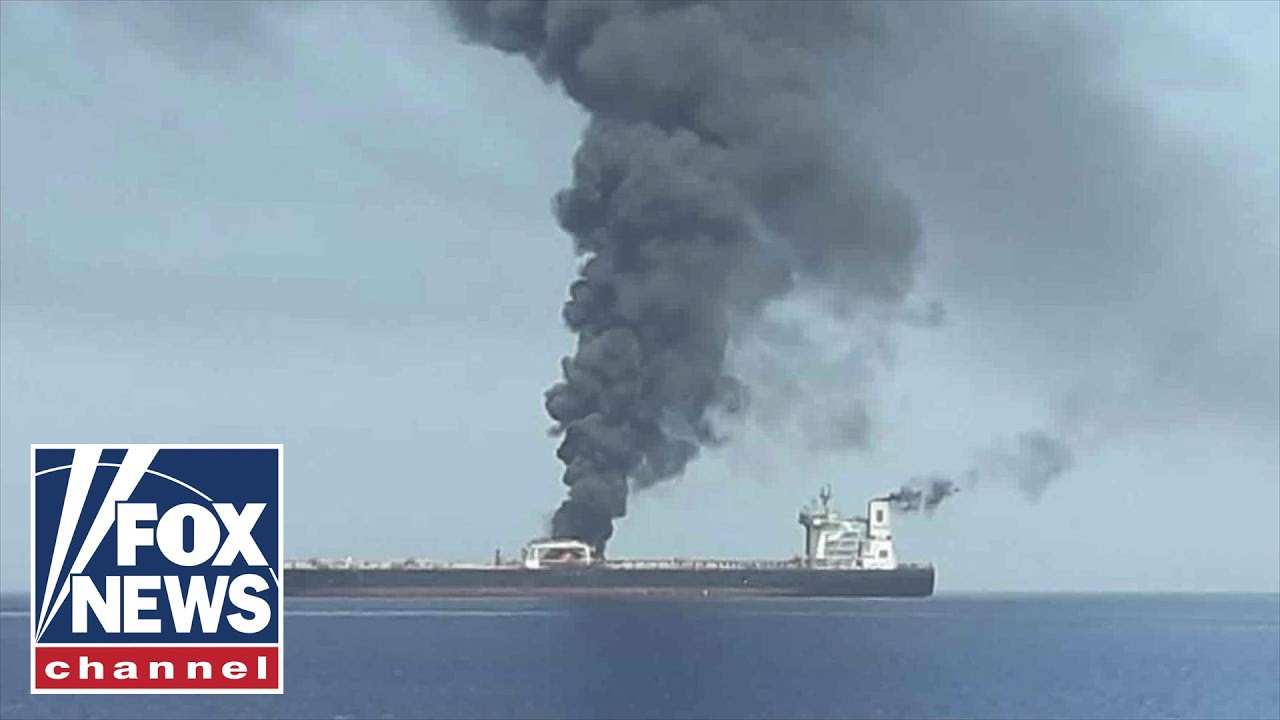 Trump blames Iran for tanker attacks in the Gulf of Oman