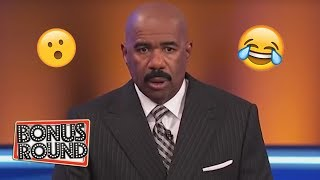 5 Family Feud Answers That SHOCKED STEVE HARVEY On Family Feud USA!