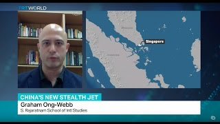 Interview with Graham Ong-Webb on China's Stealth Jet