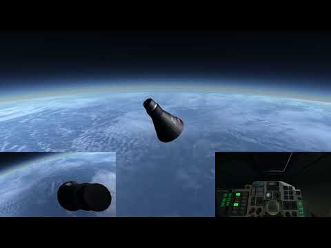 Freedom 7: The First American in Space - Kerbal Space Program (RSS/RO)