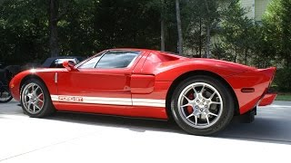 homepage tile video photo for My First Ride in a Ford GT!