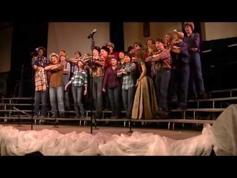 "SRVHS Choir Dinnershow 2014: ""El Hambo"""