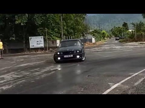 BMW E34 დრიფტი უღელტეხილზე