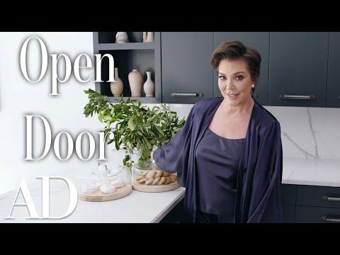 Inside Kris Jenner's Hidden Hills Home  | Open Door | Architectural Digest