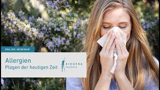 Allergien - Plagen der heutigen Zeit | Webinar mit Dr. med. univ. Peter Brunner