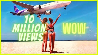 Download Boeing Plane Landing and Take Off Footage at Maho Beach St. Maarten Mp3 and Videos