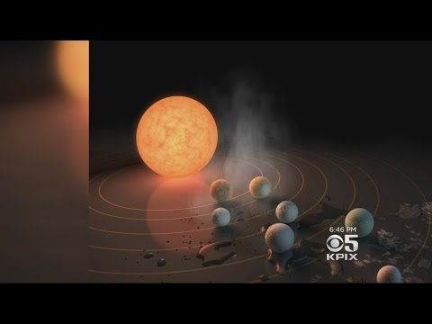 NASA Thrilled About Announcing Discovery Of 7 Earth-Like Planets Around Single Star