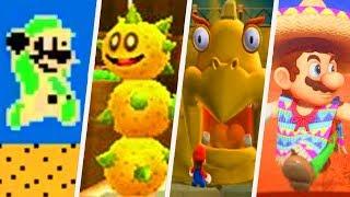Evolution of Desert Levels in Super Mario Games (1988 - 2017)